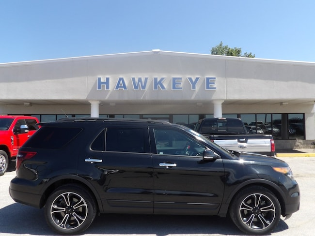 Used 2013 Ford Explorer Sport 4WD  Sport for Sale in Red Oak, IA