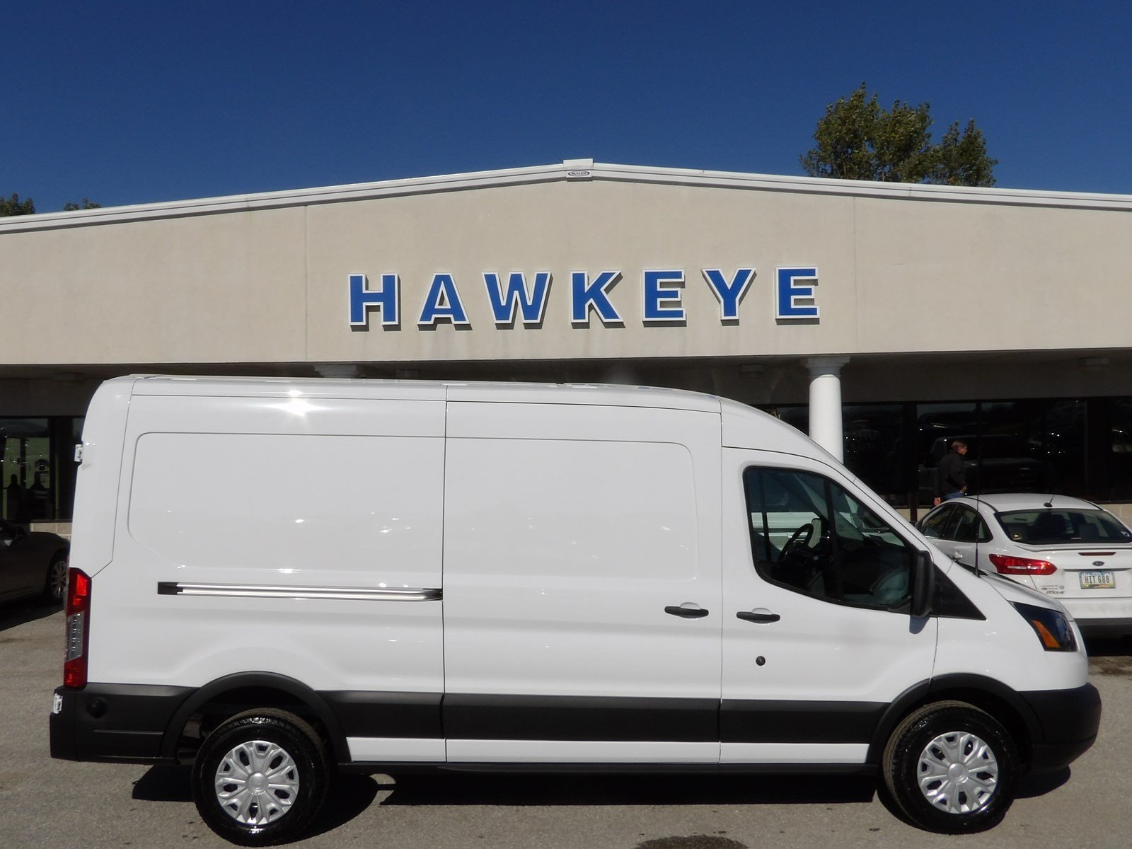 Featured New 2019 Ford Transit Van T-250 148 Med Rf 9000 GVWR Sliding RH Dr for sale near you in Red Oak, IA