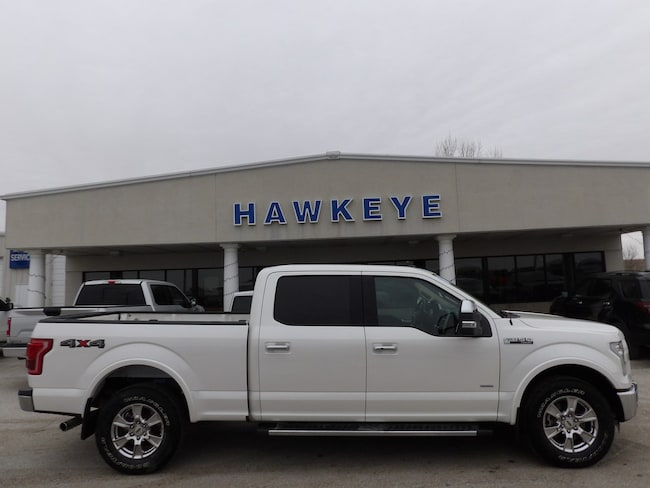 Used 2016 Ford F-150 Lariat 4WD SuperCrew 157 Lariat for Sale in Red Oak, IA