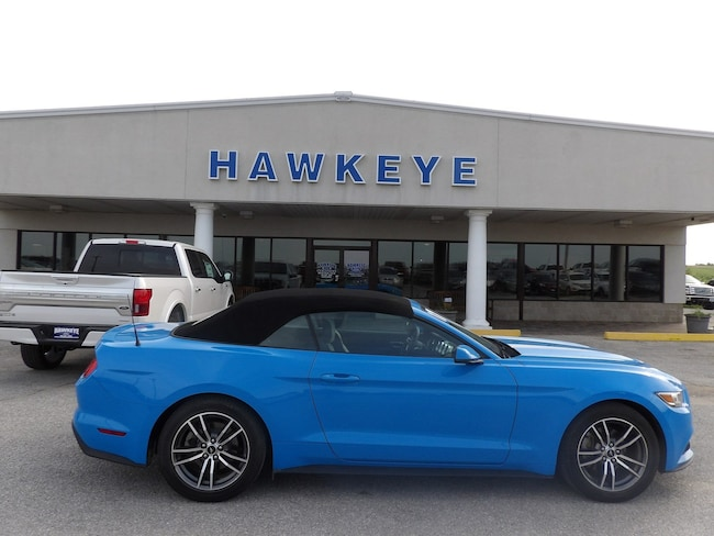 Used 2017 Ford Mustang EcoBoost Premium Convertible for Sale in Red Oak, IA