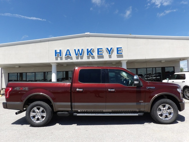 Used 2015 Ford F-150 Lariat 4WD SuperCrew 157 Lariat for Sale in Red Oak, IA