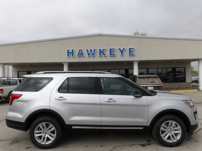 New 2019 Ford Explorer XLT XLT 4WD for Sale in Red Oak, IA