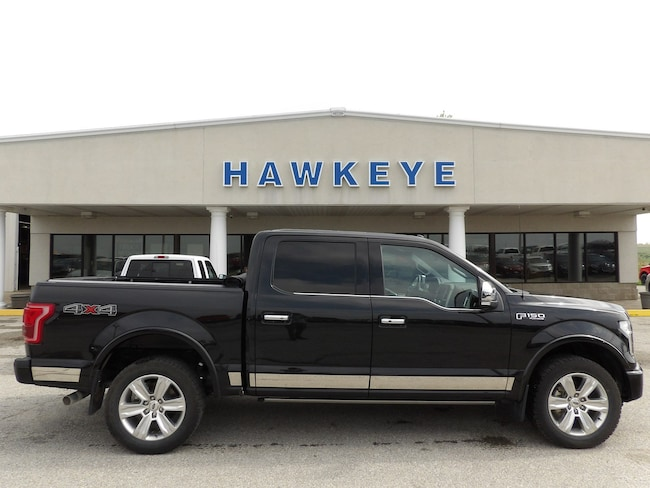 Used 2015 Ford F-150 Platinum 4WD SuperCrew 145 Platinum for Sale in Red Oak, IA