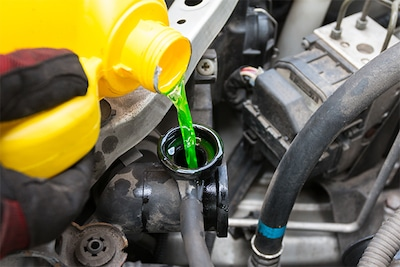 Complete coolant exchange