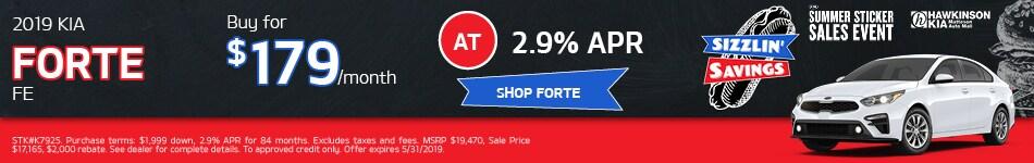 2019 Kia Forte FE