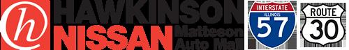 Hawkinson Nissan in the Matteson Auto Mall