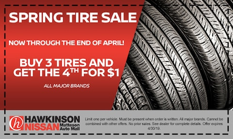 Spring Tire Sale!