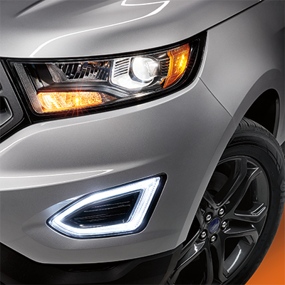 The 2018 Ford Edge Headlights