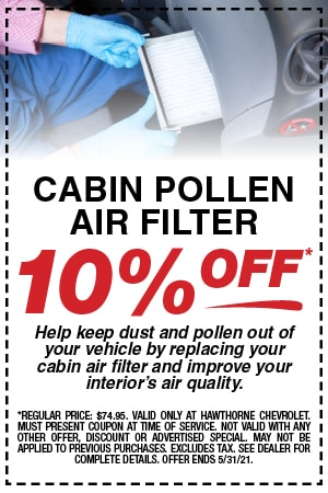 Cabin Pollen Air Filter