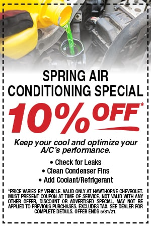 Spring Air Conditioning Special