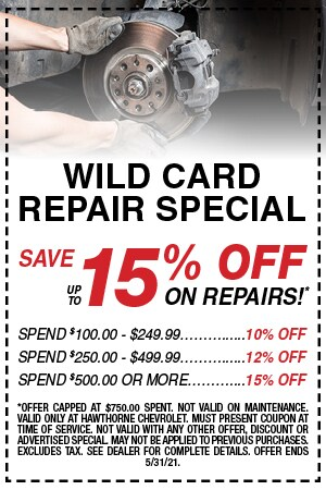 Wild Card Repair Special