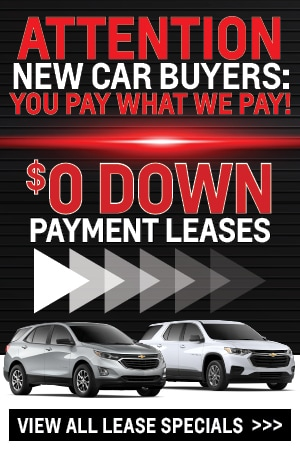 $0 Down Payment Lease Specials