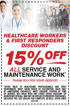 Healthcare Workers & First Responders Discount
