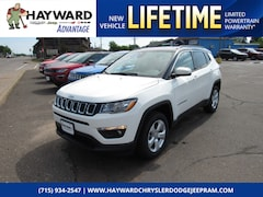 New 2018 Jeep Compass LATITUDE 4X4 Sport Utility 3C4NJDBB6JT401291 for sale in Hayward, WI at Hayward Chrysler Dodge Jeep Ram