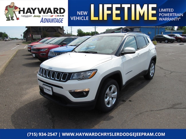 new 2018 Jeep Compass LATITUDE 4X4 Sport Utility in Hayward WI