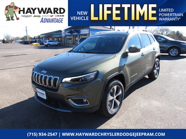 new 2019 Jeep Cherokee LIMITED 4X4 Sport Utility in Hayward WI