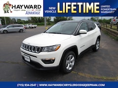 New 2018 Jeep Compass LATITUDE 4X4 Sport Utility 3C4NJDBB6JT470689 for sale in Hayward, WI at Hayward Chrysler Dodge Jeep Ram