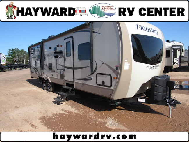 2018 Flagstaff T831BHDS Travel Trailer in Hayward, WI