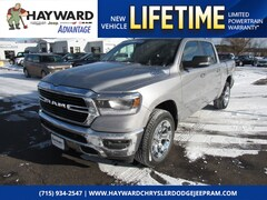 New 2019 Ram 1500 BIG HORN / LONE STAR CREW CAB 4X4 5'7 BOX Crew Cab 1C6SRFFT6KN697139 for sale in Hayward, WI at Hayward Chrysler Dodge Jeep Ram