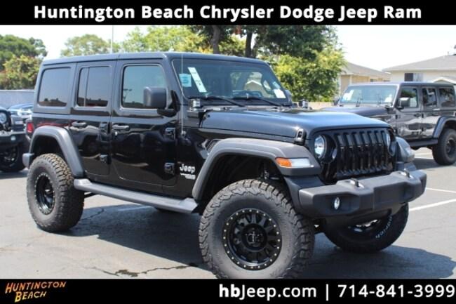 2018 Jeep Wrangler JL Unlimited Sport 4x4 SUV