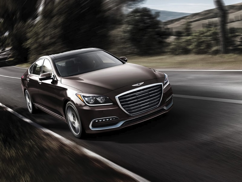 The high-performance 2019 Genesis G80