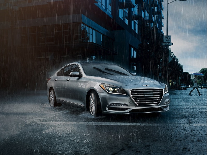 Stay safe inside the 2019 Genesis G80