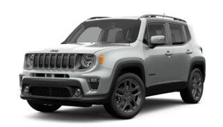 A silver 2019 Jeep Renegade High Altitude