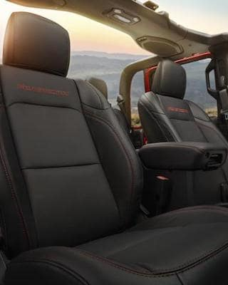 2020 Jeep Gladiator Seating
