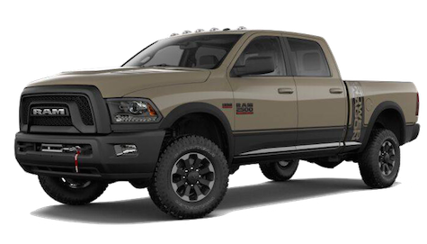 A 2018 Ram 2500 Power Wagon