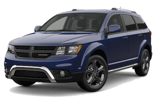 A blue 2019 Dodge Journey Crossroad