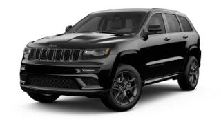 A black 2019 Jeep Grand Cherokee Limited X