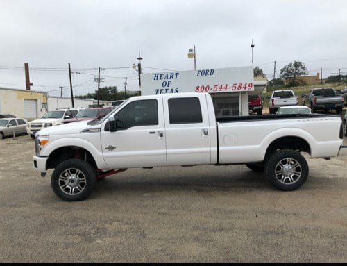 2015 Ford Super Duty F-350 SRW Platinum