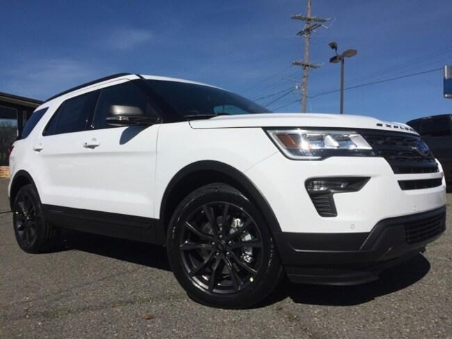 New 2019 Ford Explorer XLT SUV in Minden, LA