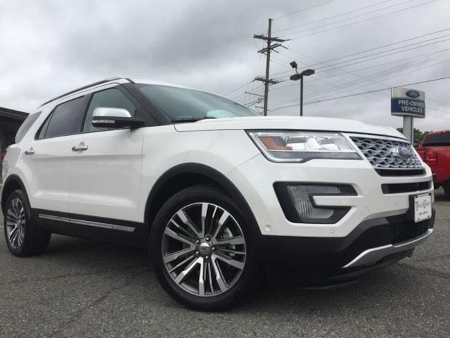 Used 2017 Ford Explorer Platinum SUV Minden, LA