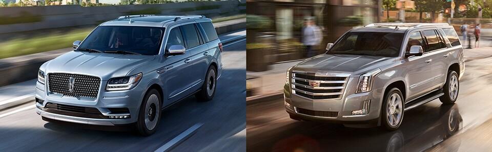 2019 Lincoln Navigator 2019 Cadillac Escalade Cadillac Cars Review