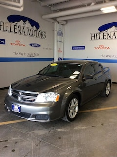 Used 2013 Dodge Avenger SE Sedan in Helena, MT
