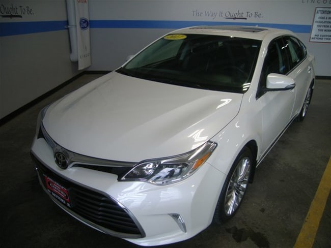 Certified Pre-Owned 2017 Toyota Avalon Limited Sedan Helena