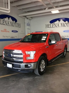 Certified  2016 Ford F-150 Lariat Truck SuperCrew Cab in Helena, MT