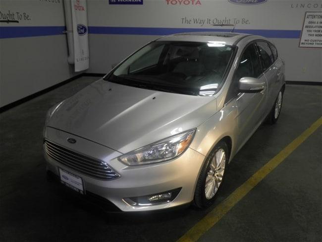 2017 Ford Focus Titanium Hatchback