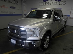 Certified  2015 Ford F-150 Lariat Truck SuperCrew Cab in Helena, MT