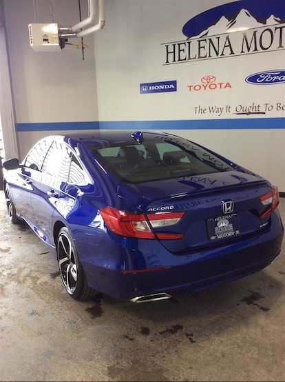 New 2019 Honda Accord For Sale/Lease Helena MT | Stock# A66061
