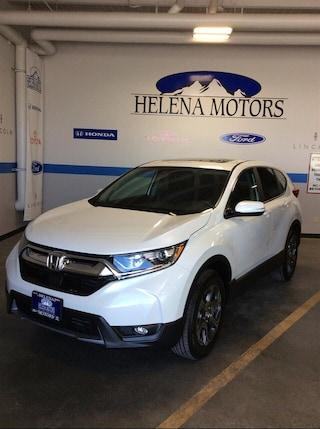 New Honda 2019 Honda CR-V EX SUV JHLRW2H56KX022079 Helena, MT