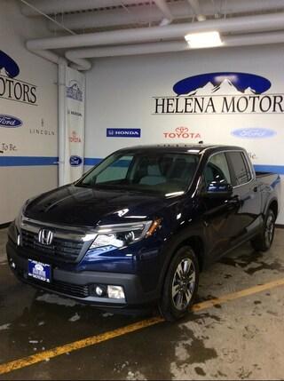 New Honda 2019 Honda Ridgeline RTL Truck Crew Cab 5FPYK3F57KB028830 Helena, MT