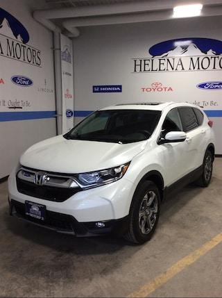 New Honda 2019 Honda CR-V EX SUV JHLRW2H55KX014877 Helena, MT