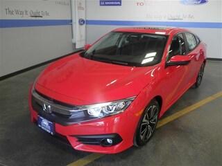 New Honda 2018 Honda Civic EX-T Sedan JHMFC1F34JX039528 Helena, MT