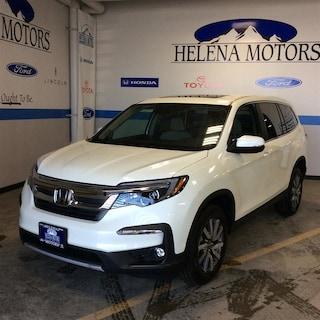 New Honda 2019 Honda Pilot EX-L SUV 5FNYF6H53KB064168 Helena, MT