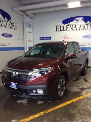 New Honda 2019 Honda Ridgeline RTL Truck Crew Cab 5FPYK3F54KB027439 Helena, MT