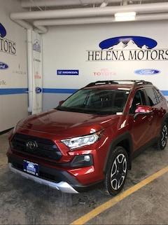 New 2019 Toyota RAV4 Adventure SUV 2T3J1RFV2KW021486 For Sale in Helena, MT