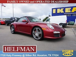 Used 2009 Porsche 911 Carrera 4S Cabriolet WP0CB299X9S754366 for Sale at Helfman Alfa Romeo in Houston