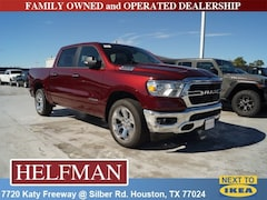 New 2019 Ram 1500 BIG HORN / LONE STAR CREW CAB 4X2 5'7 BOX Crew Cab 1C6RREFT9KN744270 for Sale in Houston, TX at Helfman Dodge Chrysler Jeep Ram